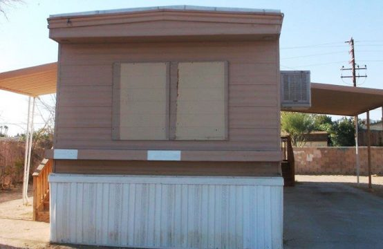 Mobile Home Property for Sale